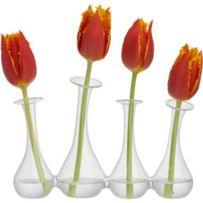 4-some bud vase