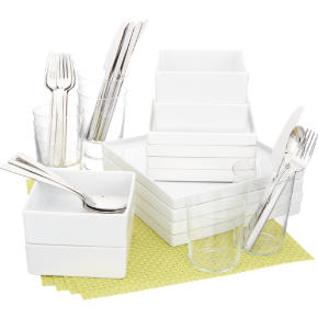 4 square chartreuse starter set