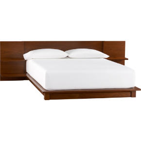 andes walnut bed