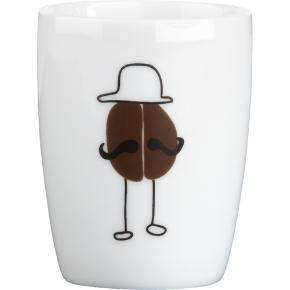bean man espresso cup