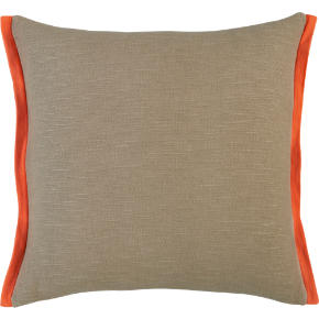 boundary oat-orange 18 pillow