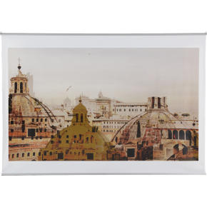 city of domes wall hanging