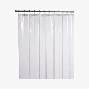 eva clear shower curtain liner