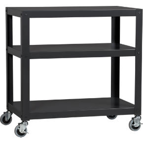 go-cart carbon three-shelf table