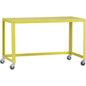 go-cart chartreuse desk