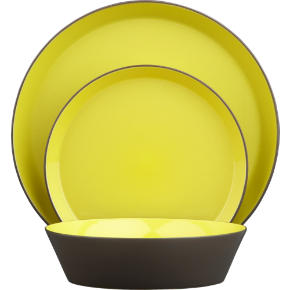 grass roots dinnerware