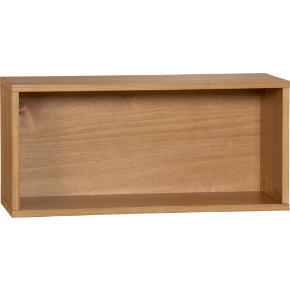 hyde oak veneer 30 open wall mounted cabinet