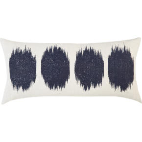 ink blot 23x11 pillow
