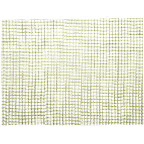 lattice green placemat