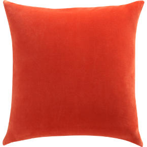 leisure burnt orange 23 pillow