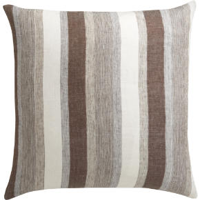 linen tall stripe 23 pillow