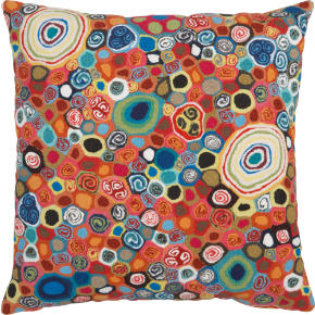 millefiora murano 20 outdoor pillow