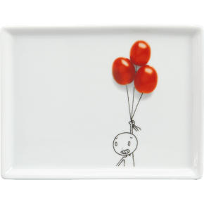 oliver tomato balloons appetizer plate