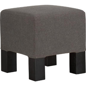 quad greige stool
