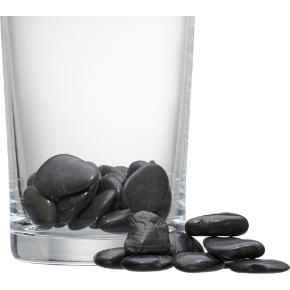 black river stones