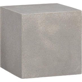 stone resin cube shelf