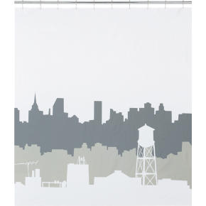 CB2 - urban dawn shower curtain customer reviews - product reviews ...