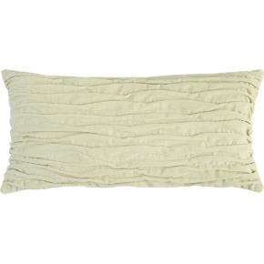 velvet twist oat 23x11 pillow