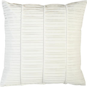 vinyl white 16 pillow