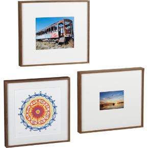 walnut box frames