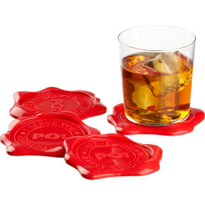 wax seal coasters set of four