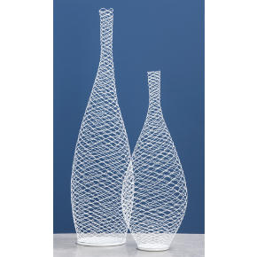 wire vases