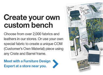 Create your own custom bench