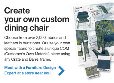 Create your own custom dining chair