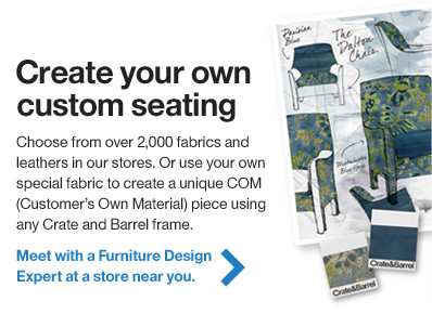 Create your own custom seating