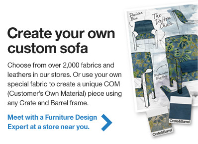 Create your own custom sofa