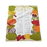 2016 Calendar Dish Towel