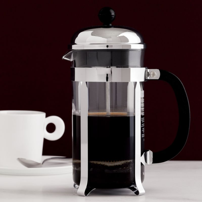 Original French Press Coffee Maker : Bodum Chambord 34 Ounce French Press Crate and Barrel