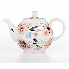 February Teapot by Yellena James