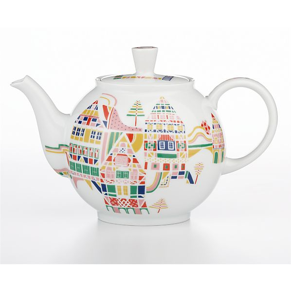 November Teapot by Julia Rothman