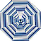 9' Round Blue Striped Umbrella Cover.