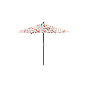 9' Round Budding Branch Umbrella with FSC Eucalyptus Frame