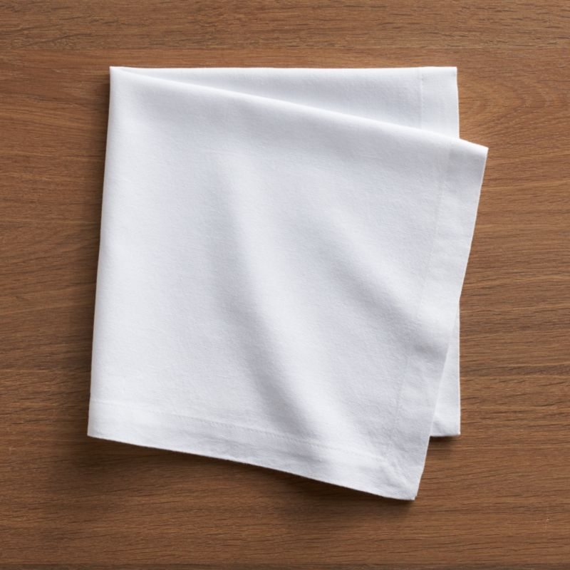 Soft, pre-washed Portuguese cotton napkin with hemmed borders is the essence of elegant simplicity.<br /><br /><NEWTAG/><ul><li>100% pre-washed cotton</li><li>Do not bleach</li><li>Machine wash cold, tumble dry; warm iron as needed</li><li>Made in Portugal</li></ul>