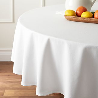 "Abode 90"" Round Tablecloth"