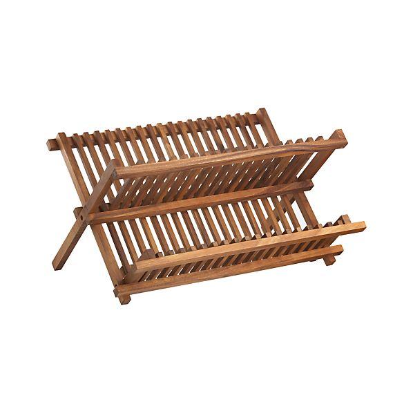 Acacia Dish Rack