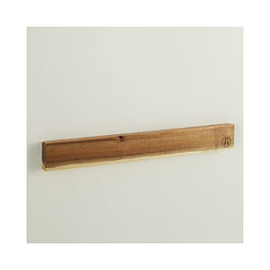 "Schmidt Brothers® Acacia 24"" Magnetic Wall Bar"