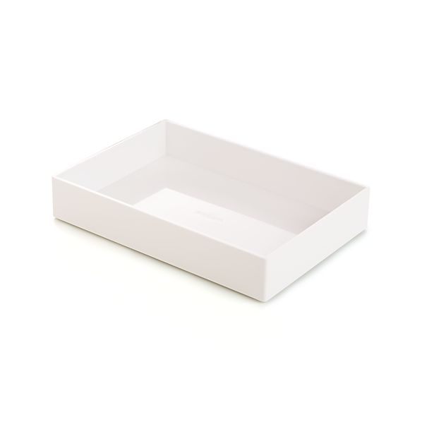 Poppin ® White Accessories Tray