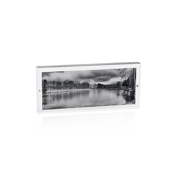 Acrylic 11x5.5 Panoramic Block Frame