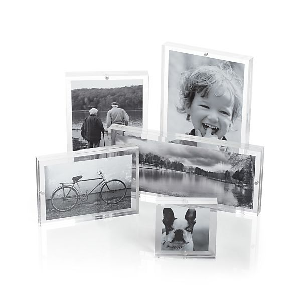 Acrylic Block Picture Frames