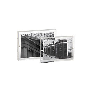 2-Piece Acrylic Block Frame Set