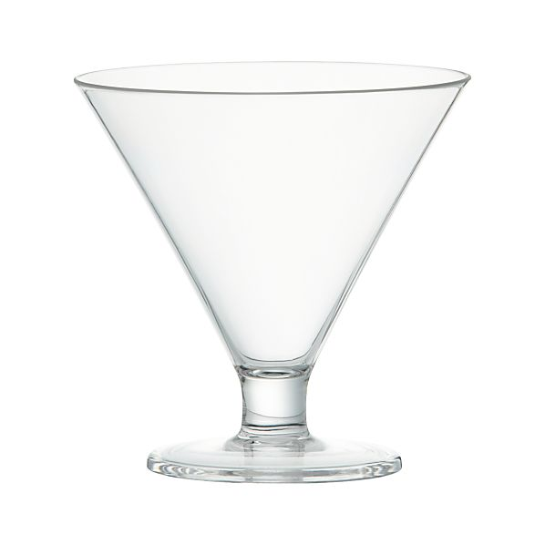 Acrylic Cocktail-Dessert Glass