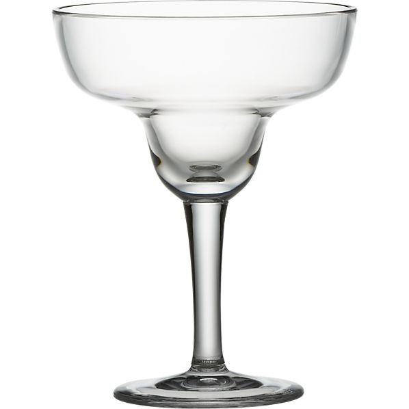 Acrylic Margarita Glass
