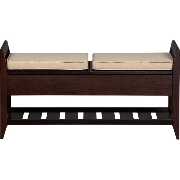 Cushioned Storage Benches