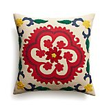 "Adestes 18"" Pillow with Feather-Down Insert"