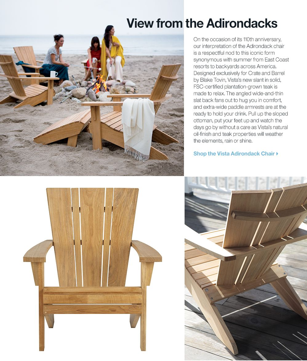 Vista Adirondack Chair