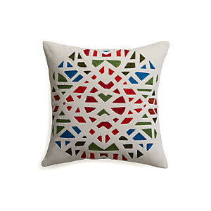 "Adorn 16"" Pillow with Down-Alternative Insert"